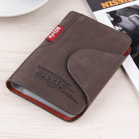 New Fashion Leather Credit Card Holder Business Cards Cover Bags Card Organizer Bag - Hespirides Gifts - 2