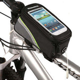 ROSWHEEL CYCLING BIKE BICYCLE FRAME IPHONE HOLDER PANNIER MOBILE PHONE CASE BAG POUCH - Hespirides Gifts - 7