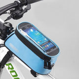 ROSWHEEL CYCLING BIKE BICYCLE FRAME IPHONE HOLDER PANNIER MOBILE PHONE CASE BAG POUCH - Hespirides Gifts - 2