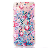New Fashion Liquid Glitter meteor sand sequins Colorful Dynamic Transparent Hard Mobile Phone Cases For iphone4s/5 SE/6 6s/7Plus - Hespirides Gifts - 5