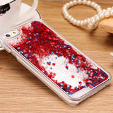 New Fashion Liquid Glitter meteor sand sequins Colorful Dynamic Transparent Hard Mobile Phone Cases For iphone4s/5 SE/6 6s/7Plus - Hespirides Gifts - 9