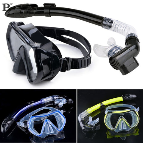 Hot Selling Summer Scuba Diving Mask Snorkel Glasses Set Silicone Swimming Pool Equipment - Hespirides Gifts - 1