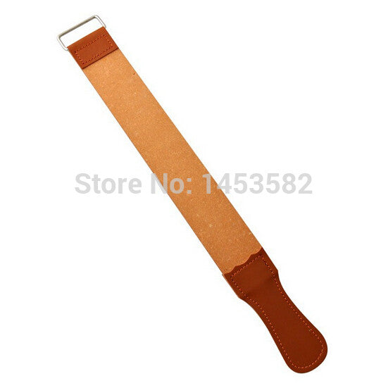 Leather Sharpening Strop For Barber Straight Razor Fold Knife Sharpening Shave - Hespirides Gifts
