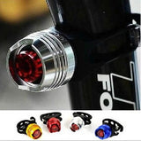 LED Waterproof Bike Bicycle Cycling Front Rear Tail Helmet Red Flash Lights Safety Warning Lamp Cycling Safety Caution Light T43 - Hespirides Gifts - 1