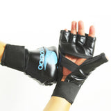 ZOOBOO Brand MMA Boxing Gloves Top Quality PU Leather MMA Half Fighting Boxing Gloves Competition Training Gloves - Hespirides Gifts - 8
