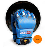 ZOOBOO Brand MMA Boxing Gloves Top Quality PU Leather MMA Half Fighting Boxing Gloves Competition Training Gloves - Hespirides Gifts - 10