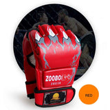 ZOOBOO Brand MMA Boxing Gloves Top Quality PU Leather MMA Half Fighting Boxing Gloves Competition Training Gloves - Hespirides Gifts - 9