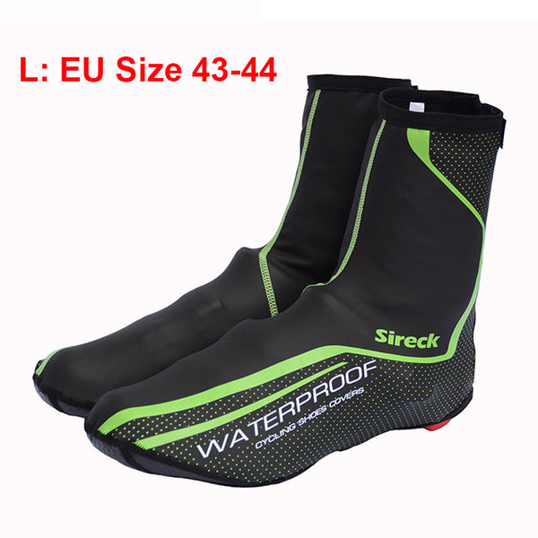 Sireck Cycling Shoe Cover Copriscarpe Ciclismo Waterproof Reflective MTB Road Bicycle Bike Shoe Covers Overshoes Warm Boot Cover - Hespirides Gifts - 4