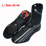 Sireck Cycling Shoe Cover Copriscarpe Ciclismo Waterproof Reflective MTB Road Bicycle Bike Shoe Covers Overshoes Warm Boot Cover - Hespirides Gifts - 2