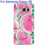 Phone Case Cover For Samsung Galaxy S4 S5 S6 S6Edge S6Edge+ Ultra Soft TPU Transparent Fruit Pineapple Lemon Watermelon Cover - Hespirides Gifts - 3