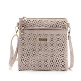 Small Casual women messenger bags PU hollow out crossbody bags ladies shoulder purse and handbags bolsas feminina - Hespirides Gifts - 2