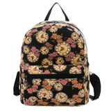 New Woman Backpack Hot Sale Canvas School Bag Printing Lightweight School Backpacks Fashion Women's Bags - Hespirides Gifts - 20