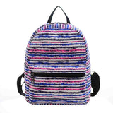 New Woman Backpack Hot Sale Canvas School Bag Printing Lightweight School Backpacks Fashion Women's Bags - Hespirides Gifts - 14