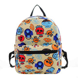 New Woman Backpack Hot Sale Canvas School Bag Printing Lightweight School Backpacks Fashion Women's Bags - Hespirides Gifts - 21