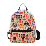 New Woman Backpack Hot Sale Canvas School Bag Printing Lightweight School Backpacks Fashion Women's Bags - Hespirides Gifts - 13