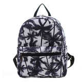 New Woman Backpack Hot Sale Canvas School Bag Printing Lightweight School Backpacks Fashion Women's Bags - Hespirides Gifts - 19