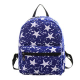 New Woman Backpack Hot Sale Canvas School Bag Printing Lightweight School Backpacks Fashion Women's Bags - Hespirides Gifts - 5