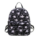 New Woman Backpack Hot Sale Canvas School Bag Printing Lightweight School Backpacks Fashion Women's Bags - Hespirides Gifts - 11