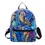 New Woman Backpack Hot Sale Canvas School Bag Printing Lightweight School Backpacks Fashion Women's Bags - Hespirides Gifts - 3