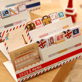 Cute Mini Memo Pad Sticky London post it Note Paper Scrapbooking Sticker Pads Creative Stationery 243 - Hespirides Gifts - 1