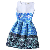 Gamiss 2016 New Women Summer Casual Dress Vintage Sexy Party Vestidos Ladies Vestido De Festa Women Dresses Maxi Boho Clothing