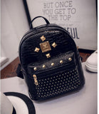 Mini Rivets Backpack For Women Girl 2016 Children School Bag Women Backpack Mochila Escolar Female Rucksack