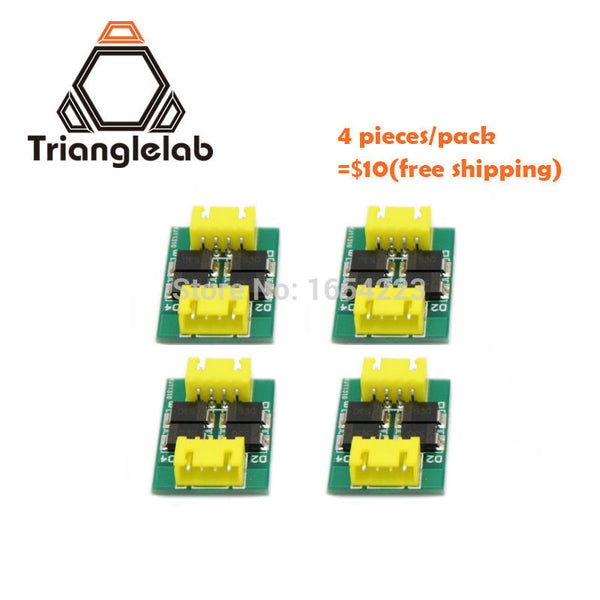 Trianglelab 4 pieces/pack TL-Smoother new kit addon module for 3D pinter motor drivers free shipping