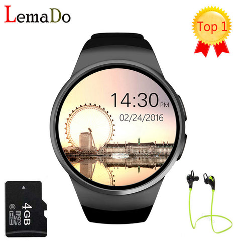 Lemado KW18 Smart Watch With Free Digital Pedometer