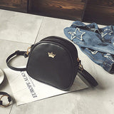 Mara's Dream 2017 Handbag Phone Purse Women Small Bag Imperial Crown PU Leather Women Shoulder Bag Small Shell Crossbody Bag