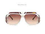 MADELINY Square Sunglasses Women Neweat Retro Sun Glasses Men Brand Designer vintage Glasses UV400 MA399