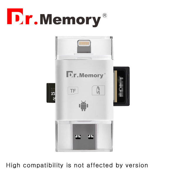 micro Sd card reader for Apple iphone 6s 7 plus Pendrive metal Expansion Android phone OTG memory card adapter 2.0 interface