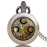 New Arrival Hot UK TV Doctor Who Theme Series Pocket Watch Chain Pendant Watches Dr Who Fans Gift - Hespirides Gifts - 14