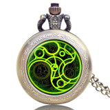 New Arrival Hot UK TV Doctor Who Theme Series Pocket Watch Chain Pendant Watches Dr Who Fans Gift - Hespirides Gifts - 15