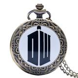 New Arrival Hot UK TV Doctor Who Theme Series Pocket Watch Chain Pendant Watches Dr Who Fans Gift - Hespirides Gifts - 9