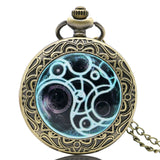 New Arrival Hot UK TV Doctor Who Theme Series Pocket Watch Chain Pendant Watches Dr Who Fans Gift - Hespirides Gifts - 7