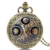 New Arrival Hot UK TV Doctor Who Theme Series Pocket Watch Chain Pendant Watches Dr Who Fans Gift - Hespirides Gifts - 4
