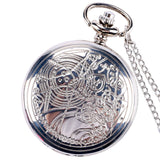 New Arrival Hot UK TV Doctor Who Theme Series Pocket Watch Chain Pendant Watches Dr Who Fans Gift - Hespirides Gifts - 11