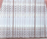 The Newest Window Curtain Set Luxury Modern Simple Ready Made Curtain For Living Room Finished Embroidery Blind Fabric AG064#30