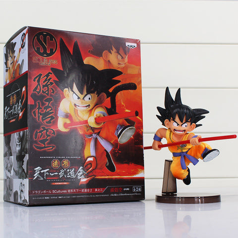 Dragon Ball Z Figures Toys 16cm Sun Goku Childhood Edition PVC Action Figures Doll PVC Model Toys - Hespirides Gifts - 1