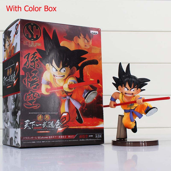 Dragon Ball Z Figures Toys 16cm Sun Goku Childhood Edition PVC Action Figures Doll PVC Model Toys - Hespirides Gifts - 3