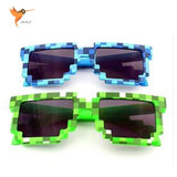 Minecraft Sun Glasses 6-15 Y Kids Sunglasses Creeper Glasses Novelty Mosaic Goggles Fashion Men Women Boys Girls Pixel Eyewares - Hespirides Gifts
