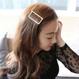 Hot Girls Women Fashion Triangle Cute Hairpin Hair Clip Hair Accessories Barrette Accesorios