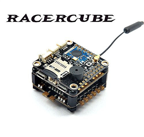 JMT RacerCube SP Racing F3 EVO Flight Controller FC Integrated 4in1 ESC PDB  MWOSD Frsky 8CH PPM SBUS Receiver F19759