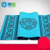 Bluephoenix thickening 8mm yoga mat broadened slip-resistant om yoga mat fitness eco-friendly blanket - Hespirides Gifts - 1