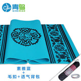 Bluephoenix thickening 8mm yoga mat broadened slip-resistant om yoga mat fitness eco-friendly blanket - Hespirides Gifts - 3