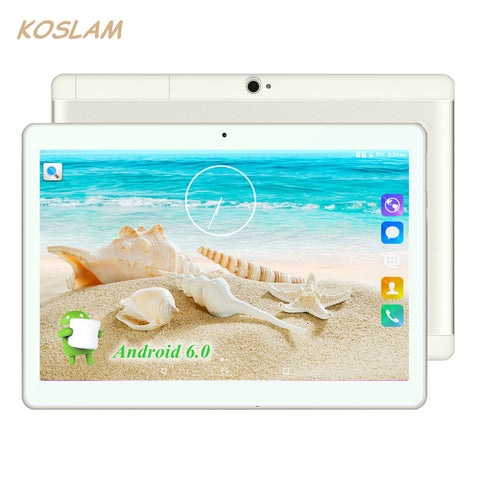 KOSLAM 10 Inch Computer Tablet With Free touch screen pen