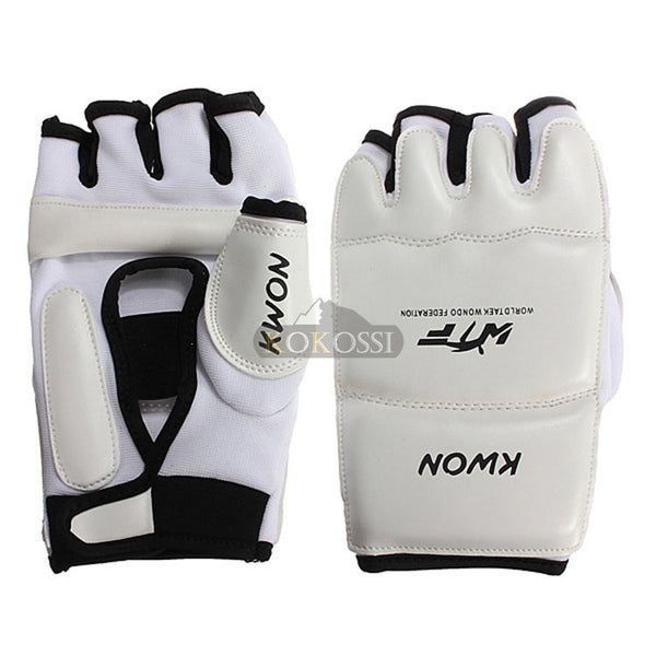 New Half Finger Fight Boxing Gloves Mitts Sanda Karate Sandbag TKD Protector For Boxeo MMA Muay Thai Kick Boxing Training - Hespirides Gifts - 16