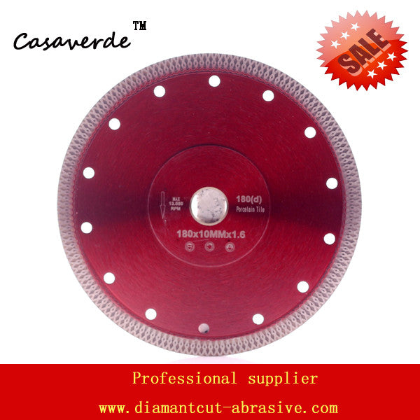 DC-SXSB05 super thin 7 inch 180mm diamond porcelain tile cutting blade for ceramic and porcelain tile cutting