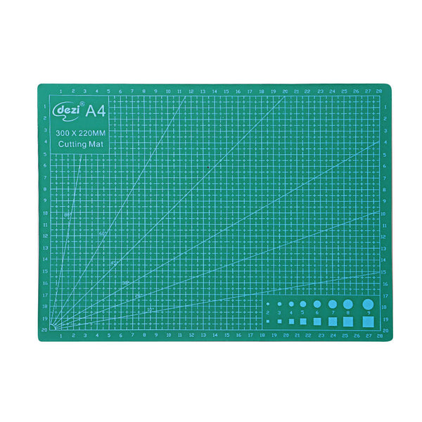 Self Healing A4 Cutting Mat Double-sided PVC Cutting Pad Board Handmade Craft DIY Tools 300x220x3mm