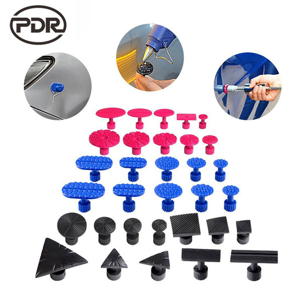 PDR Tools Dent Puller Tabs Glue Tabs Suction Cup Suckers Paintless Dent Repair Tools Dent Removal PDR Kit Ferramentas